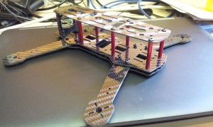 Mini H Quad frame